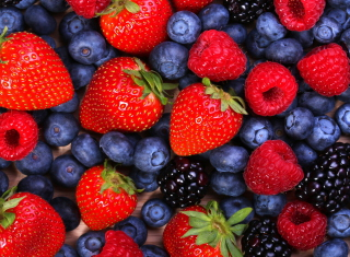 Berries Background for Android, iPhone and iPad