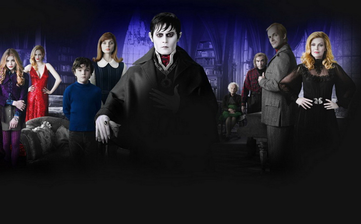 Dark Shadows 2012 wallpaper