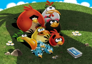 Angry Birds Background for Android, iPhone and iPad
