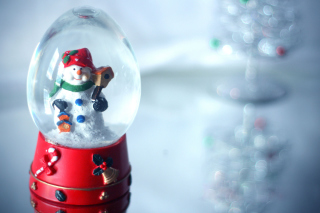 Kostenloses Christmas Glass Ball Wallpaper für Android, iPhone und iPad