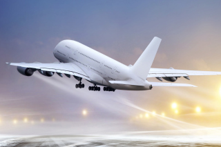 Airbus A380 Take Off Wallpaper for Desktop 1280x720 HDTV
