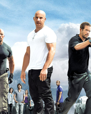 Fast and Furious 5 Background for 240x320