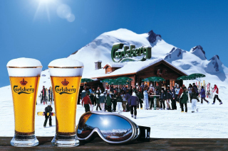 Carlsberg Background for Android, iPhone and iPad