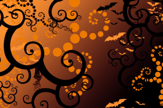 Halloween Abstract Background for 2880x1920