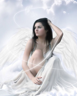 Angel Girl Picture for Nokia Asha 310