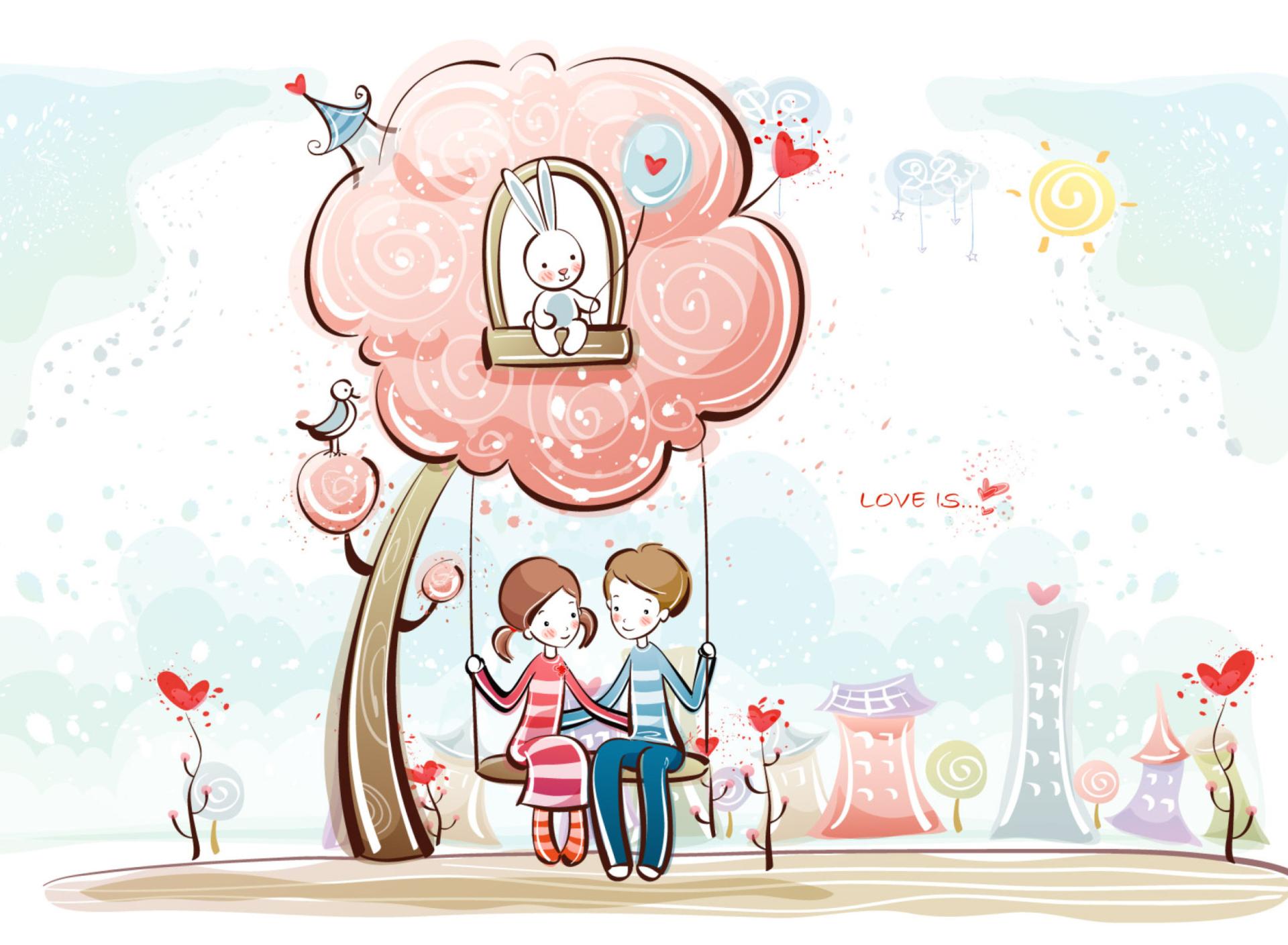 Картинка романтика любовь рисунок