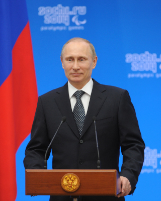 Vladimir Putin Russian President Wallpaper for Nokia C2-05