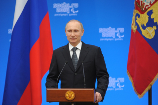 Vladimir Putin Russian President Picture for Android, iPhone and iPad