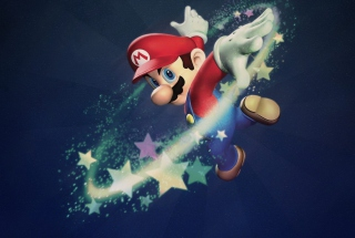 Super Mario Picture for Samsung Galaxy Tab 7.7 LTE