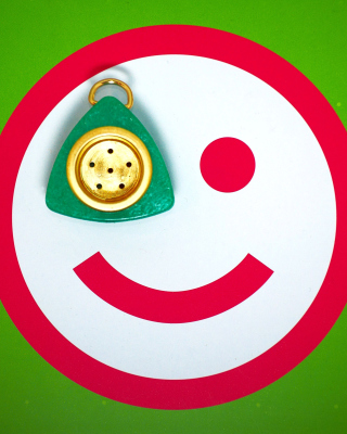 Plate Smile Background for Nokia C1-01