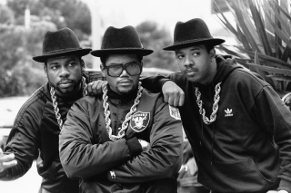 Run DMC, Joseph Simmons and Darryl McDaniels Background for Nokia XL