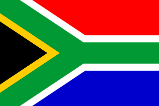 South Africa Flag Background for LG Optimus U