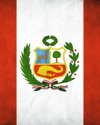 Free Peru Flag Picture for Nokia C1-01