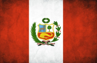 Peru Flag Background for Android, iPhone and iPad