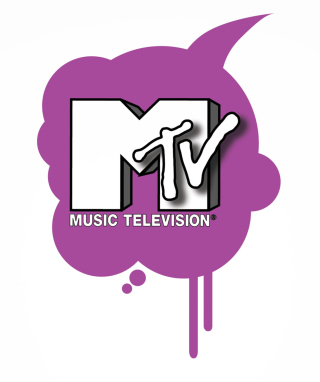 MTV Logo Wallpaper for Nokia Asha 306