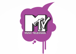 MTV Logo Wallpaper for Samsung B7510 Galaxy Pro