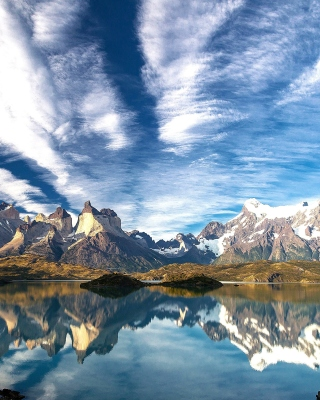Chilean Patagonia Background for Nokia C1-01
