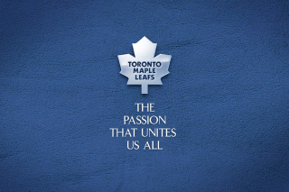 Toronto Maple Leafs NHL Logo Background for Android, iPhone and iPad