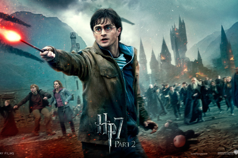 Harry Potter HP7 wallpaper 480x320