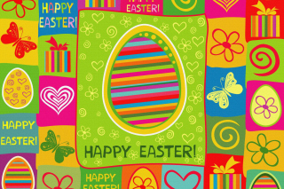 Happy Easter Background sfondi gratuiti per cellulari Android, iPhone, iPad e desktop