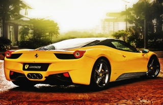 Free Ferrari 458 Italia Picture for Android, iPhone and iPad