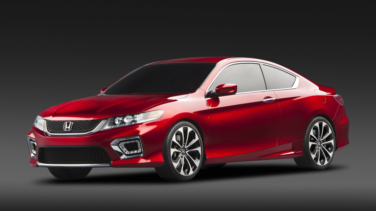 Das 2017 Honda Accord Coupe Wallpaper 1280x720