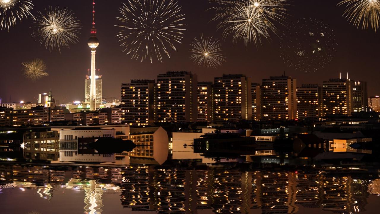 Fireworks In Berlin