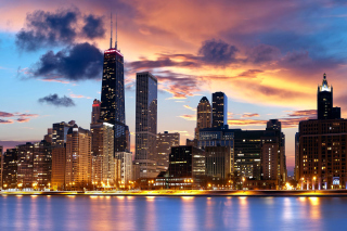 Illinois, Chicago Background for Android, iPhone and iPad