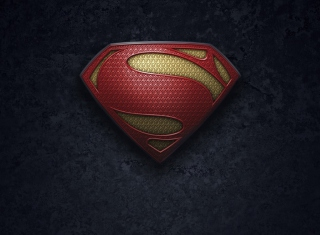 Superman Logo Background for 220x176