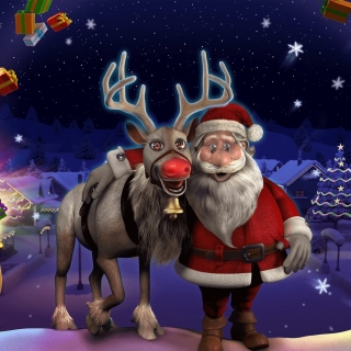 Heartfelt Christmas sfondi gratuiti per iPad mini