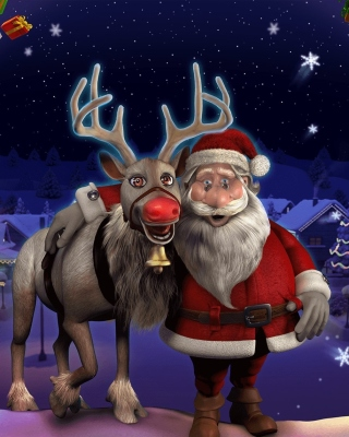 Heartfelt Christmas sfondi gratuiti per iPhone 4S