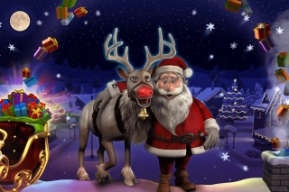 Heartfelt Christmas Background for Android, iPhone and iPad