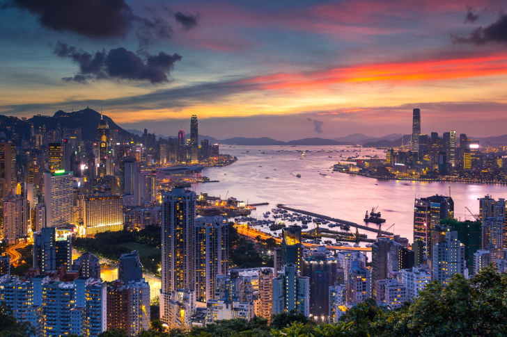 Braemar Hill in Hong Kong wallpaper