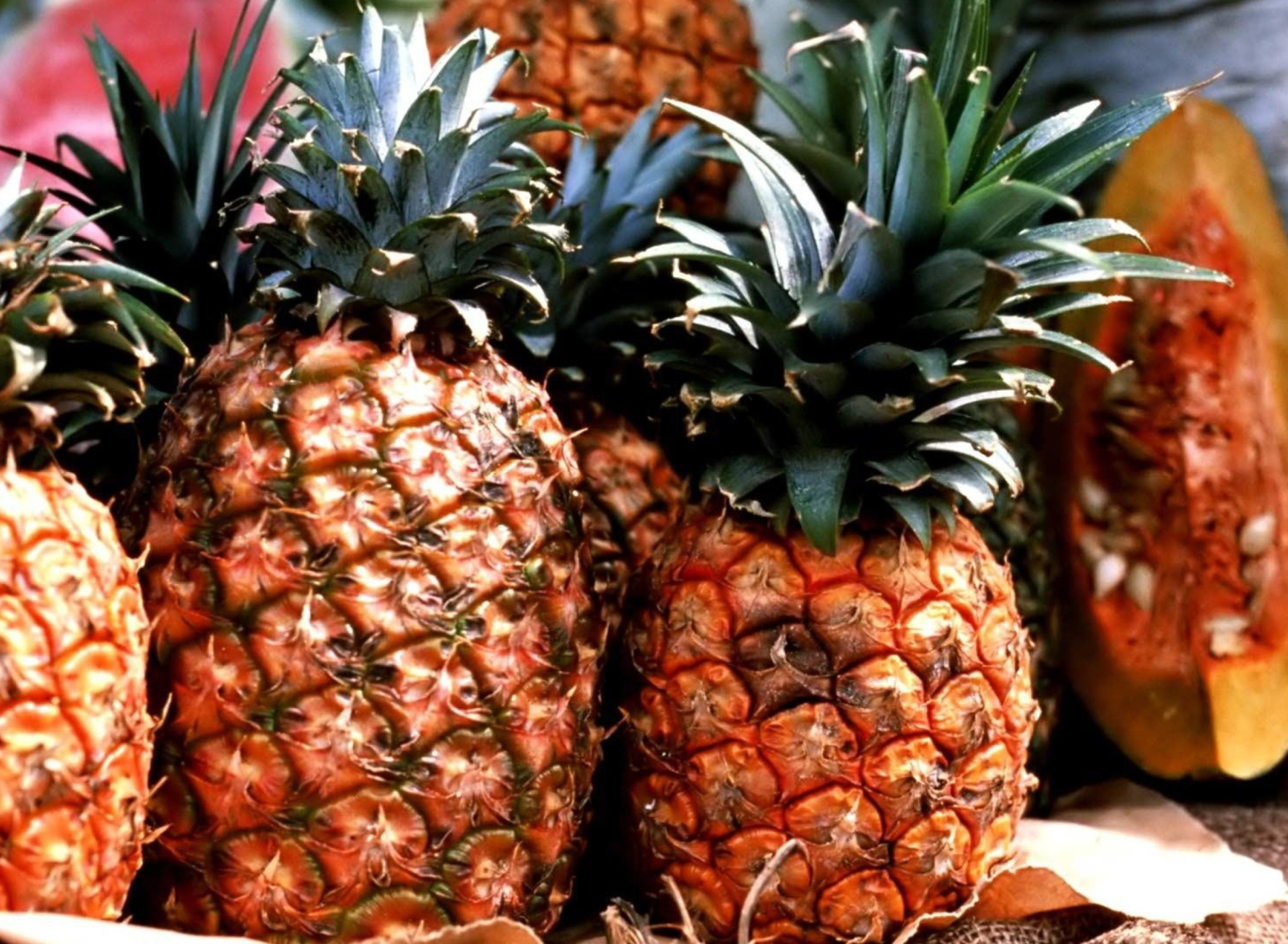 Screenshot №1 pro téma Pineapples 1920x1408