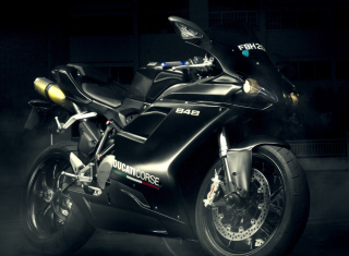Ducati 848 EVO Corse Background for Android, iPhone and iPad