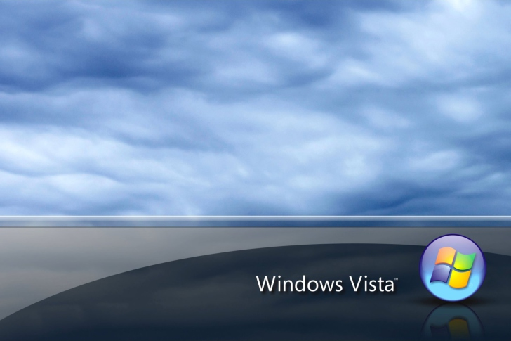 Das Windows Vista Wallpaper