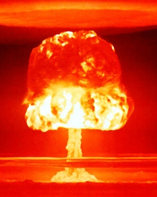 Nuclear explosion Wallpaper for Nokia C-5 5MP
