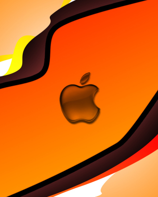 Orange Apple Wallpaper for Nokia C7