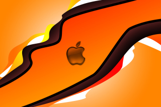 Orange Apple Wallpaper for Sony Xperia Z2 Tablet