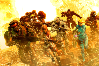Mass effect, Shepard, Halo, Final fantasy 13, Dead space Characters Picture for Android, iPhone and iPad