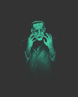Frankenstein Monster Wallpaper for Nokia C5-05