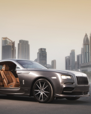 Ares Design Rolls Royce Wraith Wallpaper for HTC Titan