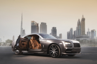 Ares Design Rolls Royce Wraith Background for Android, iPhone and iPad