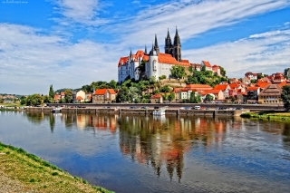 Meissen Germany Saxony Background for Android, iPhone and iPad