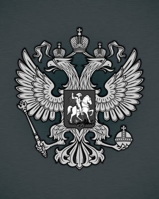 Coat of arms of Russia sfondi gratuiti per iPhone 4S