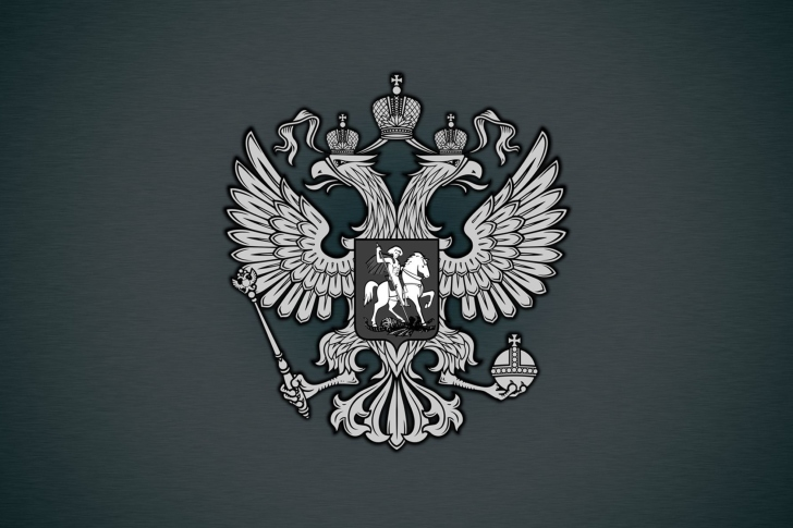 Coat of arms of Russia wallpaper