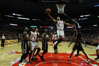 Nba Basketball Chicago Bulls Picture for Android, iPhone and iPad