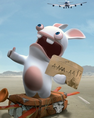 Rayman Raving Rabbids TV Party Wallpaper for Nokia X6