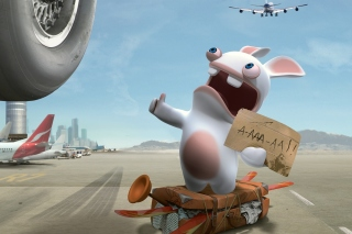 Free Rayman Raving Rabbids TV Party Picture for HTC One