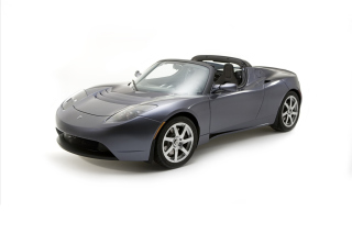 Tesla Roadster Wallpaper for Android, iPhone and iPad